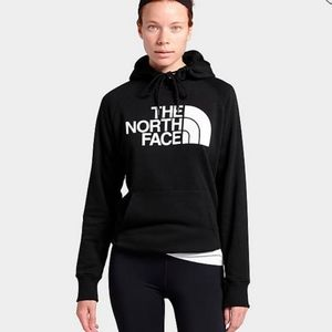 The North Face Black White Logo Hoodie MEDIUM